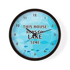 Lake Time Wall Clock