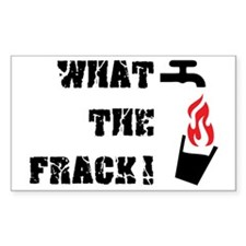What The Frack! Bumper Stickers