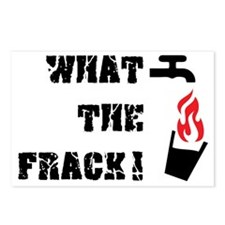 What The Frack! Postcards (Package of 8)