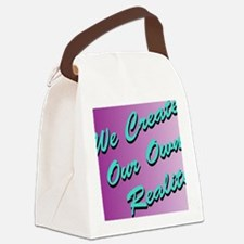 We Create Our Own Reality J1 Canvas Lunch Bag