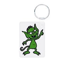Little Green Man Keychains