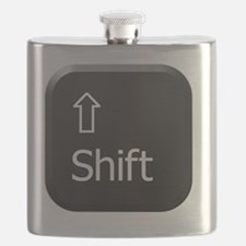 Black Keyboard Shift Key Flask