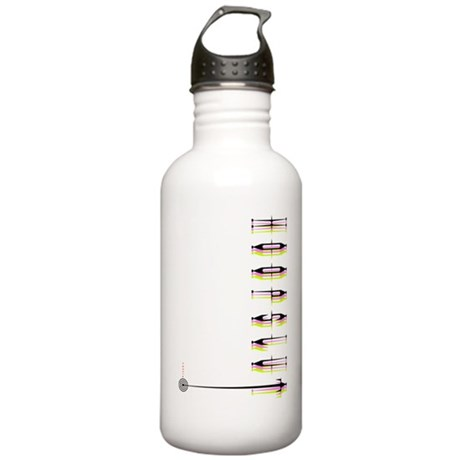 HoopSlut Skinny Stainless Water Bottle 1.0L