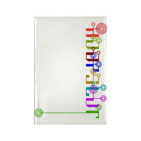 HoopSlut Skinny Rectangle Magnet