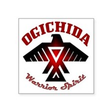 "Ogichida Thunderbird Square Sticker 3"" x 3"""