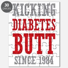 Diabetes Butt Since 1984 Puzzle