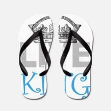 Long Live the KING Flip Flops