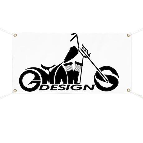 GMAN DESIGNS OFFICIAL LOGO Banner