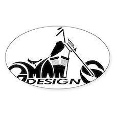 GMAN DESIGNS OFFICIAL LOGO Decal