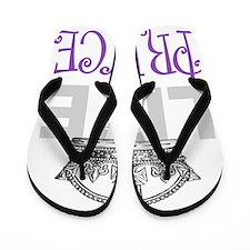 Long Live the PRINCE Flip Flops