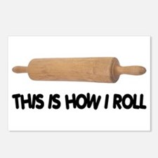 How I Roll Baking Postcards (Package of 8)