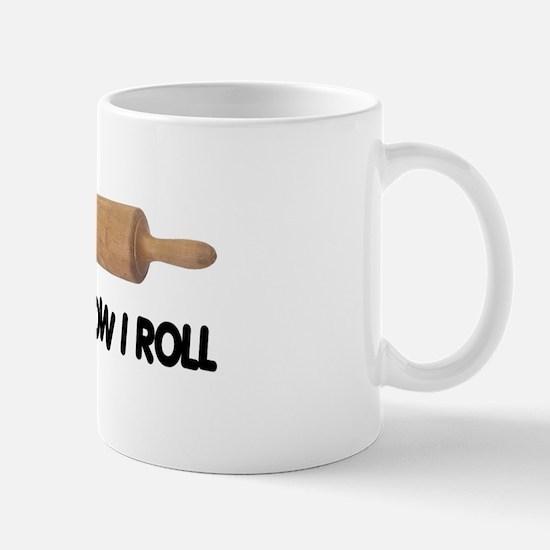 How I Roll Baking Mug