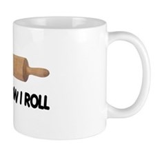How I Roll Baking Mug