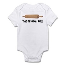 How I Roll Baking Onesie