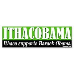 Ithacobama Bumper Bumper Sticker