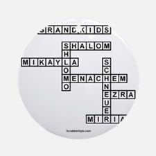 SOUTLAW SCRABBLE-STYLE Round Ornament