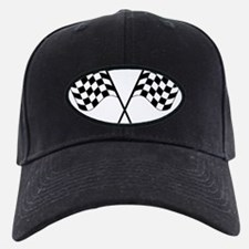 Checked Flags Baseball Hat