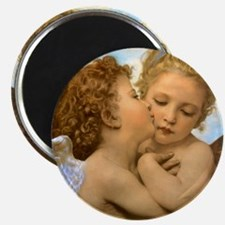Vintage Victorian Angels, First Kiss by Bou Magnet