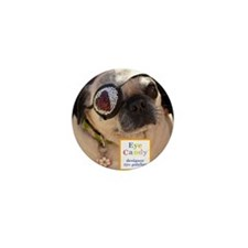 Eye Candy Mascot Mini Button