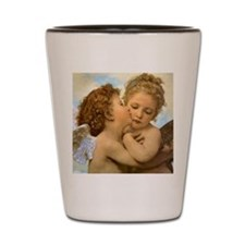 Vintage Victorian Angels, First Kiss by Shot Glass