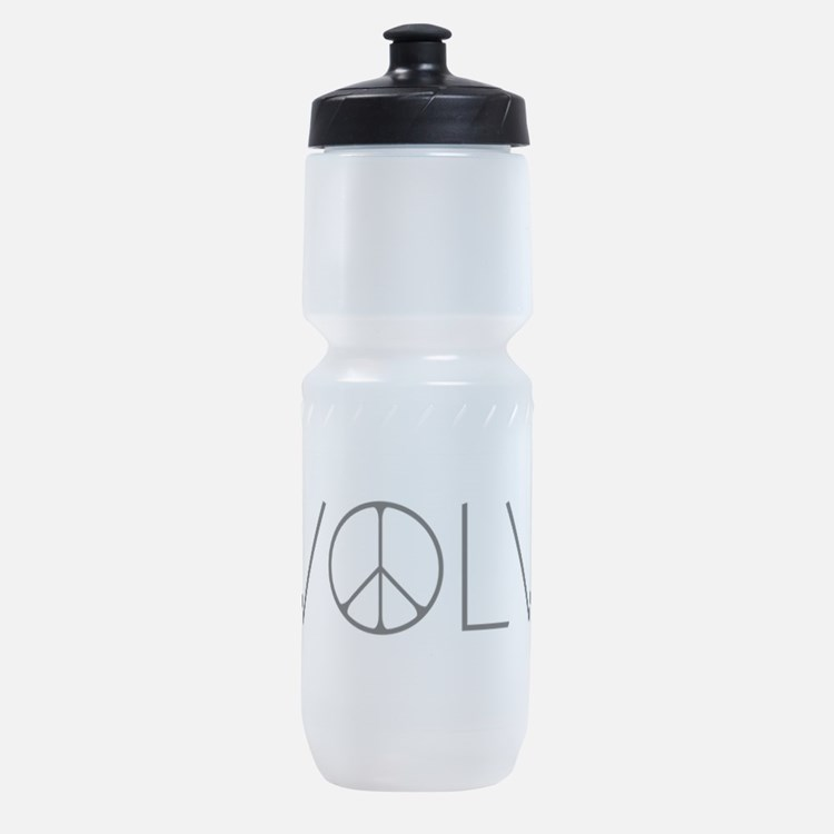 Evolve Peace Narrow.png Sports Bottle