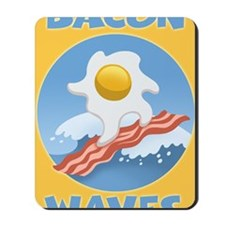 surf-bacon-egg-LG Mousepad