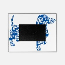 Aloha Doxie in Blue Picture Frame