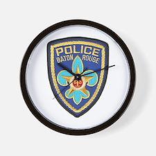 Baton Rouge Police Wall Clock