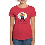 Firearms [Dark Complexion] Women's Red T-Shirt