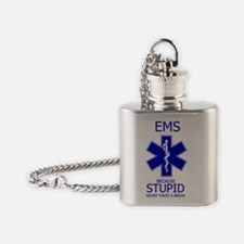 EMS Because Flask Necklace