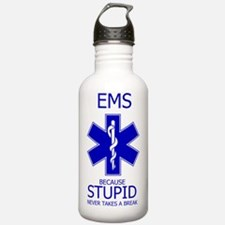 EMS Because Water Bottle