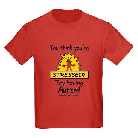Autism Stress Kids Dark T-Shirt