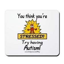 Autism Stress Mousepad