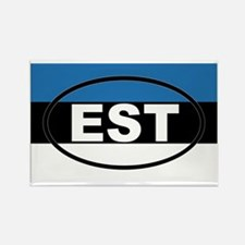 Estonia - EST - European Rectangle Magnet