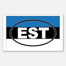 Estonia - EST - European Decal