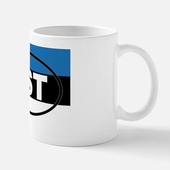 Estonia - EST - European Mug