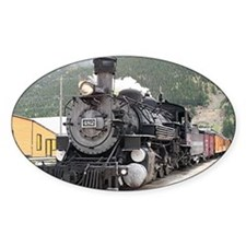 Steam train engine Silverton, Color Decal