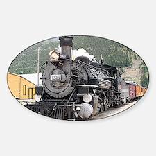 Steam train engine Silverton, Color Decal