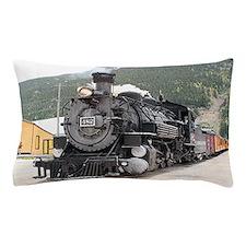 Steam train engine Silverton, Colorado Pillow Case