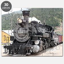 Steam train engine Silverton, Colorado, USA Puzzle