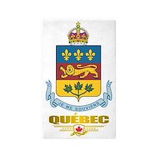 Quebec COA 3'x5' Area Rug