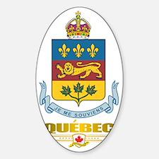 Quebec COA Decal