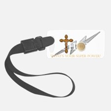 Catholic superpower Luggage Tag