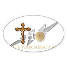 Catholic superpower Decal
