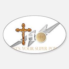 Catholic superpower Decal