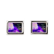 Fountain at Grand Park B-Side Bucket Bag Cufflinks