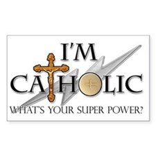 Catholic Decal