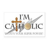 """Catholic 3"""" x 5"""""""