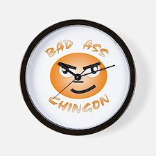 Bad Ass / Chingon Wall Clock
