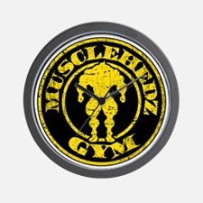 MUSCLEHEDZ GYM Wall Clock